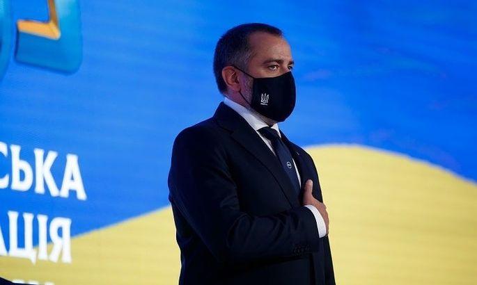 Павелко: Будем способствовать в подаче заявки на проведение ЧМ по пляжному футболу в Украине