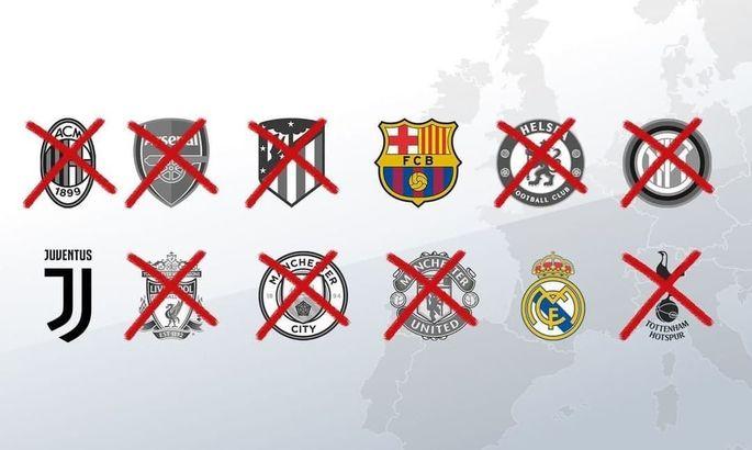 Официально: УЕФА возбудил дела против Ювентуса, Реала и Барселоны