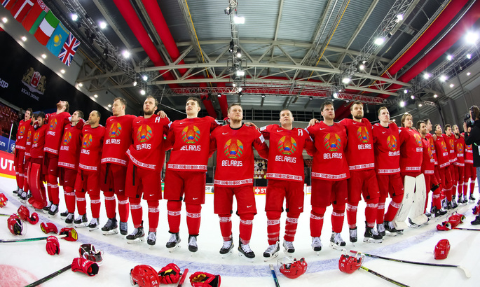 В Латвии предлогают арестовать сборную Беларуси по хоккею и обменять ее на политзаключенных