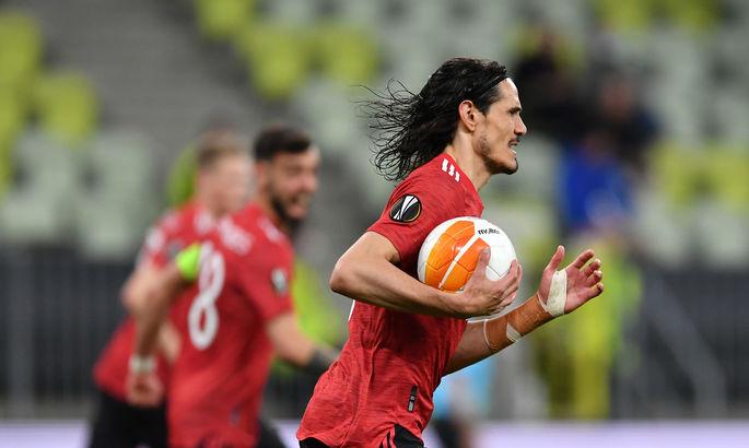 Искусство нападающего. Видео гола Кавани в финале Лиги Европы