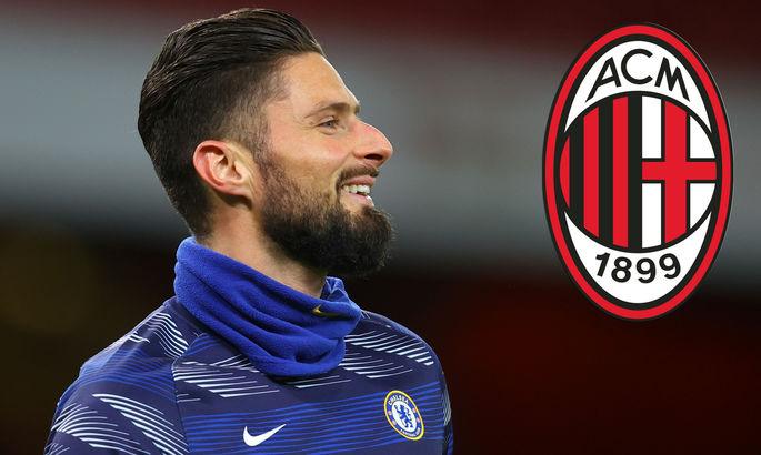 Жиру: Милан - один из великих клубов. Мне нравилась игра Шевченко и Ван Бастена