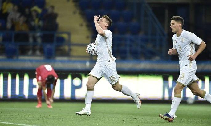 Цыганков с шестью голами вошел в топ-20 бомбардиров сборной Украины