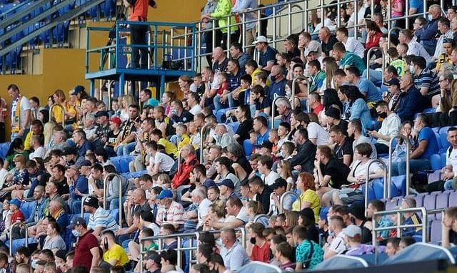 Металіст 1925 встановив рекорд сезону за відвідуваністю серед усіх трьох українських ліг
