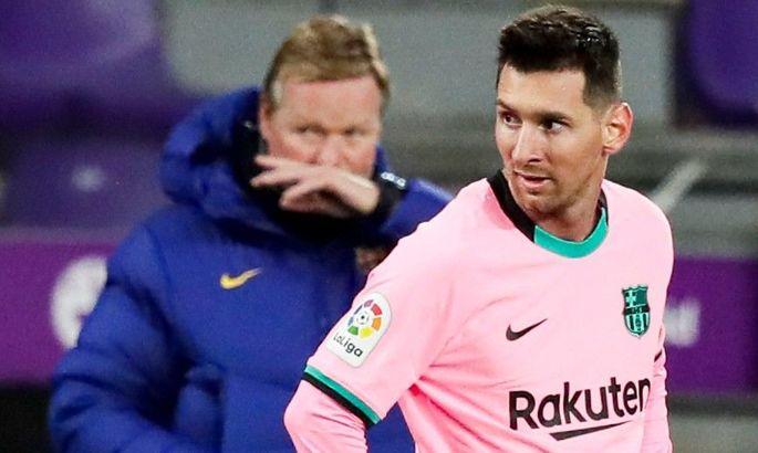 Лапорта высказался о будущем Кумана в Барселоне и контракте Месси
