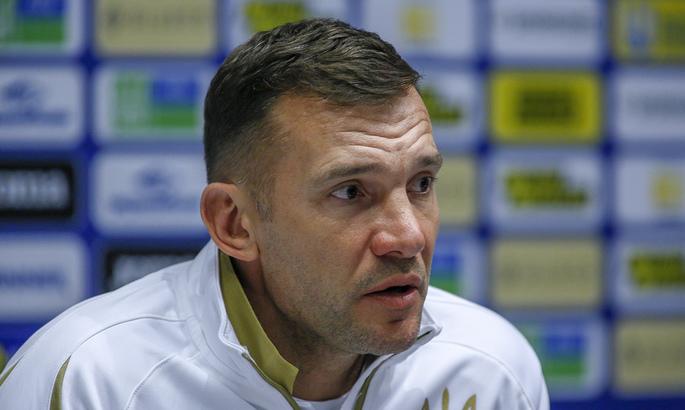 Шевченко назвал сборную, с которой не хотел бы встретиться на Евро-2020