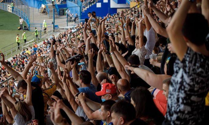 У Харкові побили рекорд відвідуваності ПФЛ. При цьому наплювавши на ковід-правила УАФ
