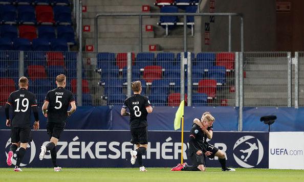 Молодежное Евро-2021. Германия лишь в серии пенальти одолела датчан