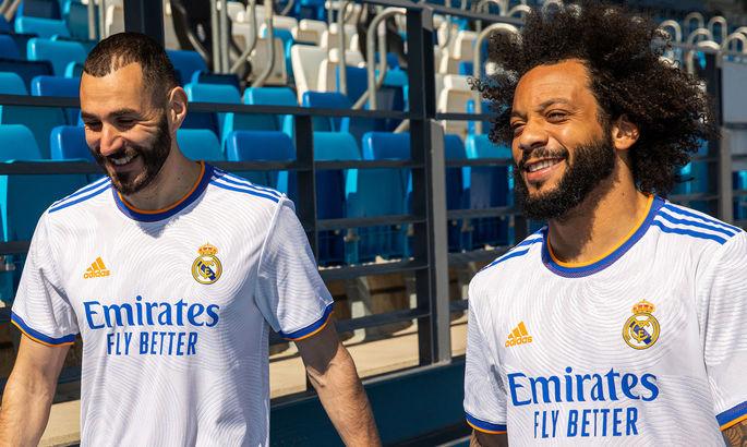 Мадридский Реал презентовал домашнюю форму на сезон-2021/22