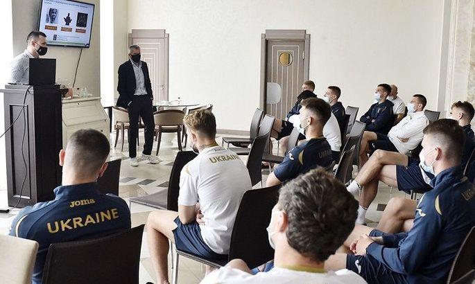 Баранка прочитал сборной Украины лекцию по противодействию договорным матчам