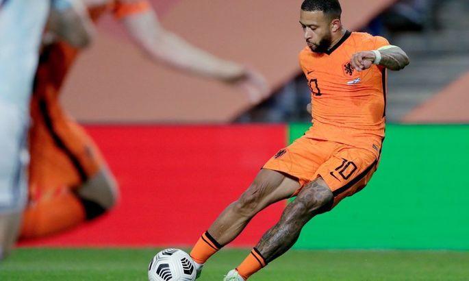 Мемфис Депай – лучший в сборной Нидерландов по голам со штрафных за последние 47 лет