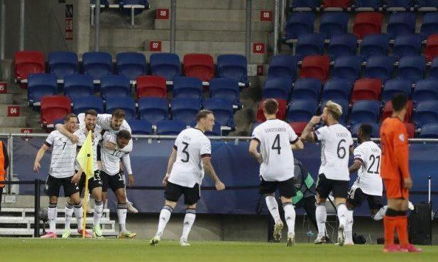 Раптовий дубль на старті поєдинку виводить Німеччину до фіналу молодіжного Євро