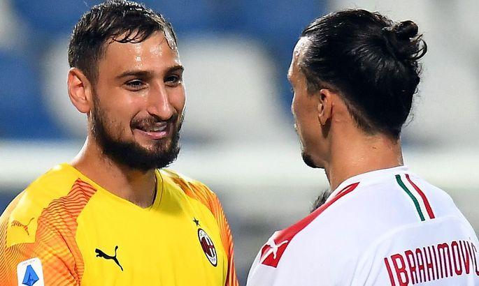 Златан: Доннарумма мог бы стать основным вратарем Милана на 20 лет. Хотя, нет, не на 20 – он же не Ибра