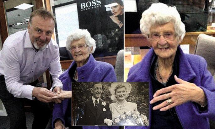Трогательная история: 96-летняя поклонница Лестера получила обручалку после победы Лестера в Кубке