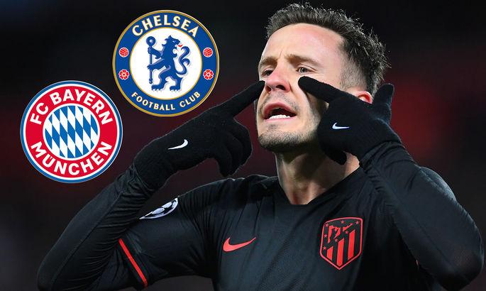Лидер Атлетико может покинуть Мадрид ради Баварии или Челси