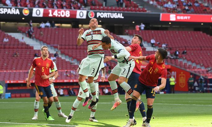 ТМ. Іспанія - Португалія 0:0. До чемпіонату Європи не готові