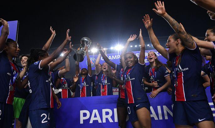 Женская команда ПСЖ впервые за 14 лет прервала гегемонию Лиона в Лиге 1
