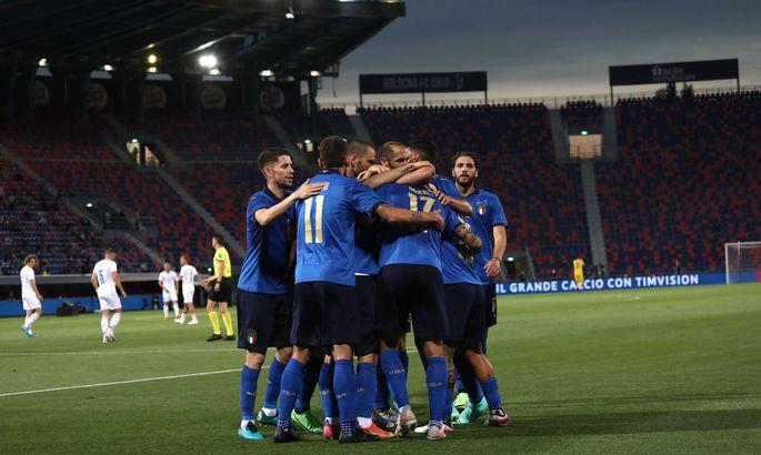 Збірна Італії встановила власний рекорд за кількістю сухих перемог поспіль