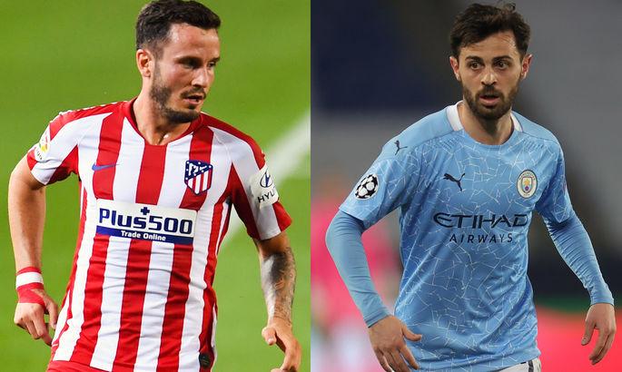 Атлетико и Манчестер Сити могут совершить обмен ключевыми полузащитниками