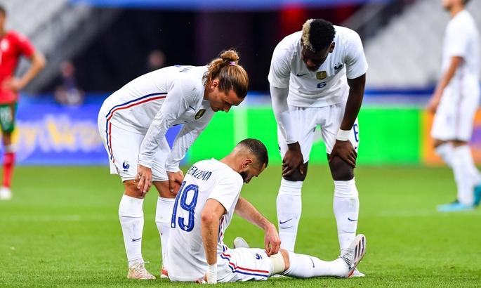 ТМ. Франция –Болгария 3:0. Травма Бензема и забивной Жиру