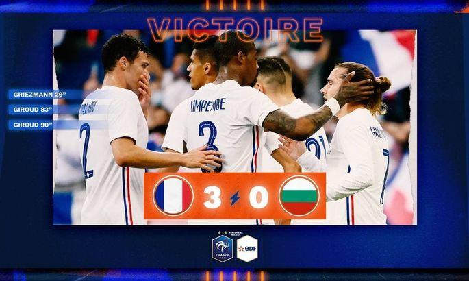 ТМ. Франция - Болгария 3:0. Обзор матча, видео голов