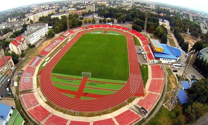 Верес заявил три стадиона для домашних матчей в УПЛ