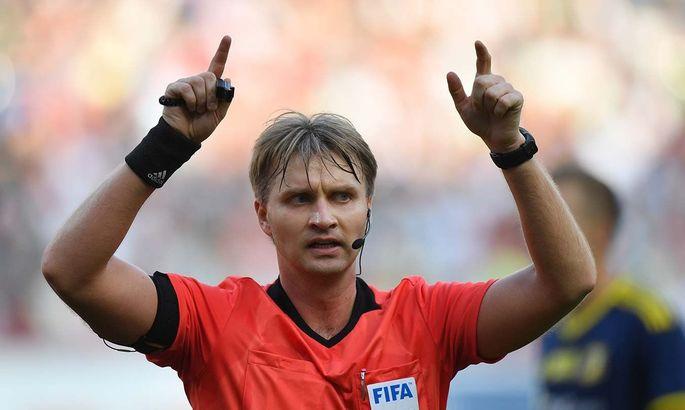 УЕФА добивается запрета на работу арбитра из России во всем мире