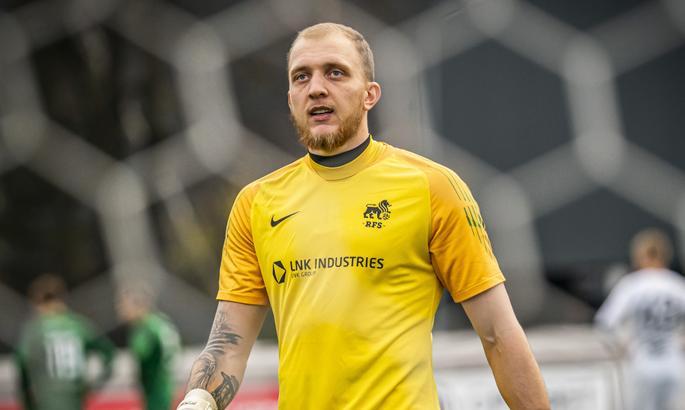Украинский голкипер покинул латвийский клуб