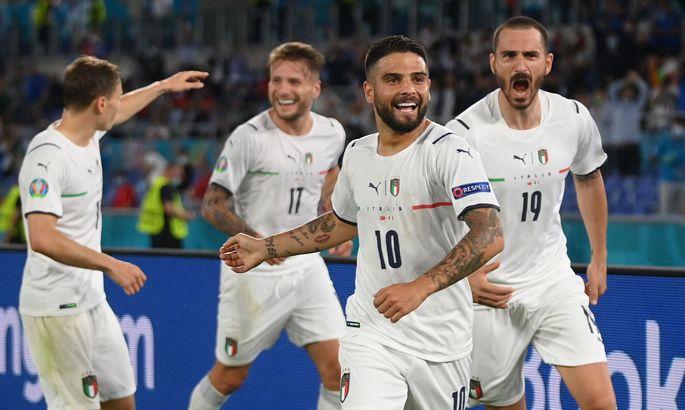 Італія встановила рекорд за кількістю голів на чемпіонатах Європи