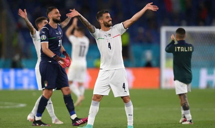 Защитник сборной Италии стал лучшим игроком матча-открытия Евро-2020
