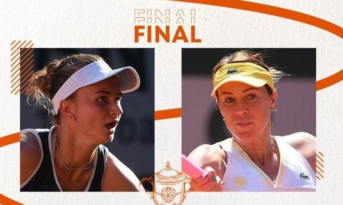 Крейчікова vs Павлюченкова: хто стане чемпіонкою Ролан Гаррос?