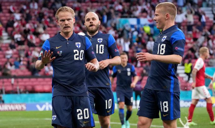 Дания - Финляндия 0:1. Странный матч