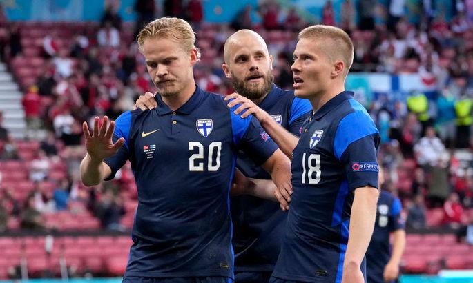 Первый удар на Евро. ВИДЕО исторического гола Финляндии в матче с Данией