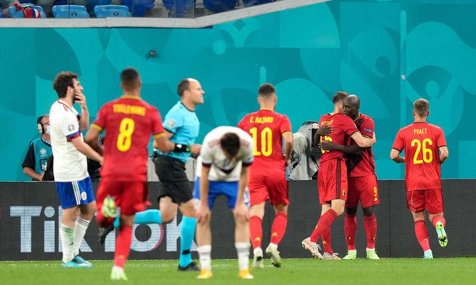 Чужая форма мозолит, а сами – голые. Бельгия - Россия 3:0. Обзор матча и видео голов