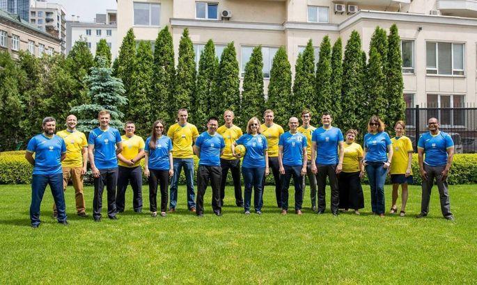 МИД России увидел на футболках сборной Украины Гитлера