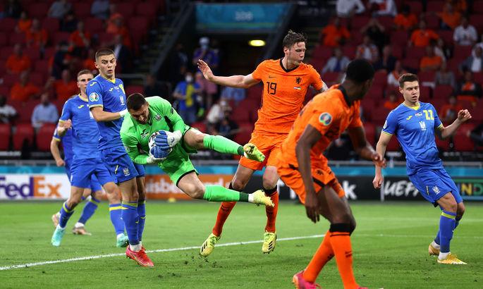 Нидерланды - Украина 3:2. Видео голов и обзор матча