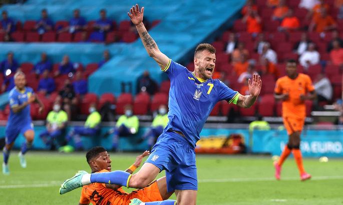 Ярмоленко – лучший игрок Украины в матче с Нидерландами по индексу InStat. Марлос – худший