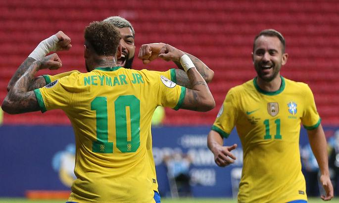 Копа Америка стартовал. Бразилия громит Венесуэлу, Колумбия скромно побеждает Эквадор