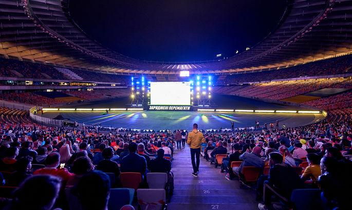 Евро 2020: 10 тысяч украинцев поддержали национальную сборную на Олимпийском