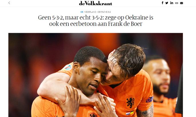 Неудержимый Дамфрис и обнадеживающий старт оранье. Обзор СМИ после матча Нидерланды - Украина - изображение 1