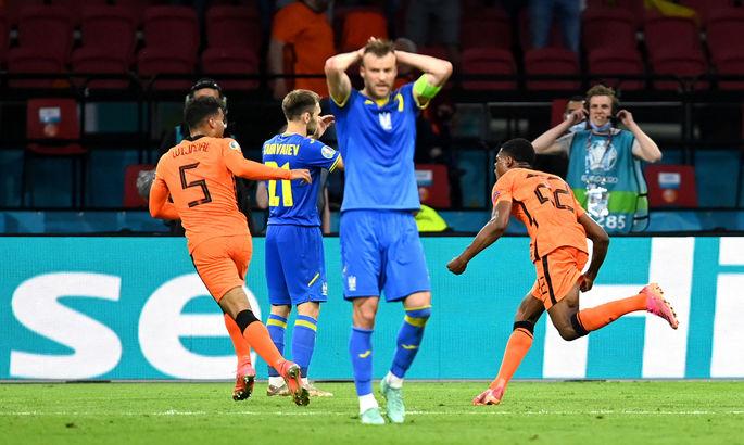 На гребне волны. Акценты зрителя на игре Украины с Нидерландами