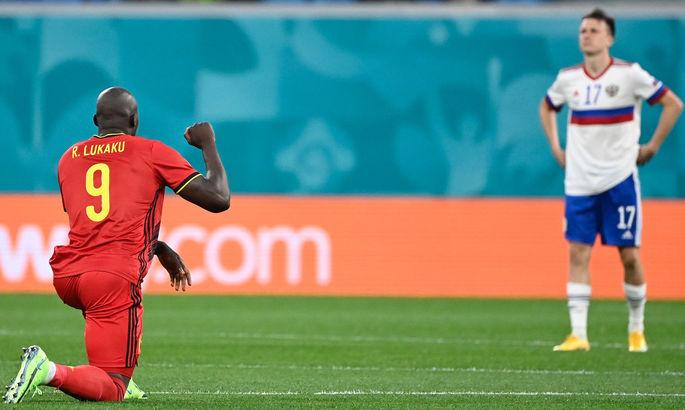 В УЕФА осудили свист российских болельщиков во время акции BLM в исполнении бельгийской сборной