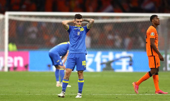 Нидерланды - Украина. Выход Шапаренко изменил игру к лучшему. Плохо, что такая опция усиления была одна