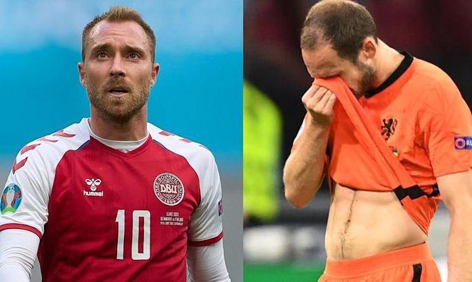 Игрок сборной Нидерландов перепугался случая с Эриксеном и не хотел выходить на матч с Украиной