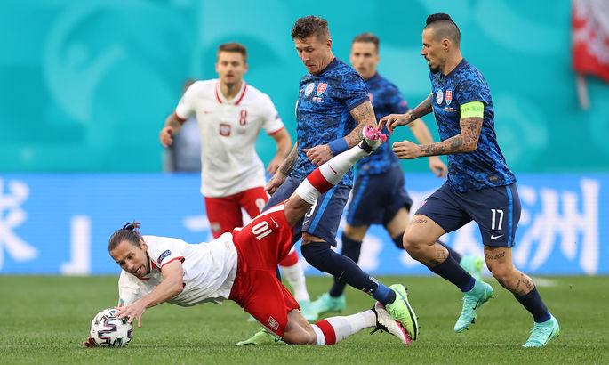 Польша - Словакия 1:2. Соколы заклевали орлов