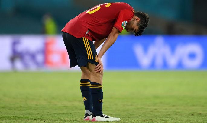 Сборная Испании побила рекорд турниров ЕВРО по владению мячом