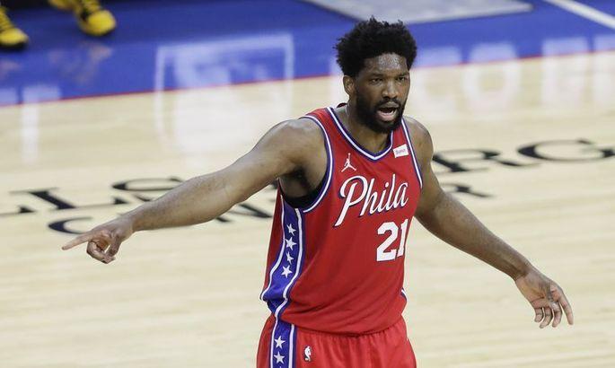 Эмбиид превзошел антирекорд Джордана в плей-офф НБА
