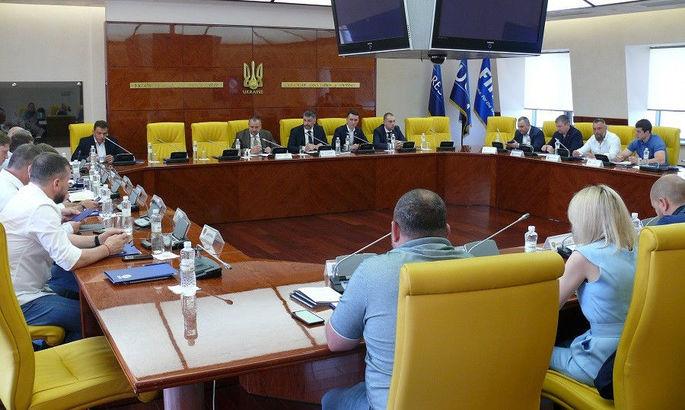 Состоялись сборы участников УПЛ. Олимпик остается в элите
