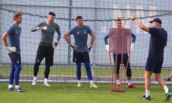 Динамовцы вышли из отпуска и провели первую тренировку