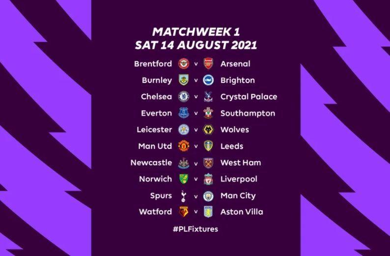 АПЛ опубликовала календарь сезона – Манчестер Сити и Тоттенхэм встретятся уже в первом туре - изображение 1