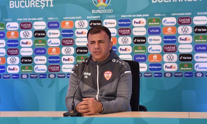 Тренер Северной Македонии: Во втором тайме показали, почему мы играем на Евро